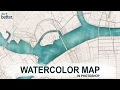 Watercolor Map Tutorial In Photoshop