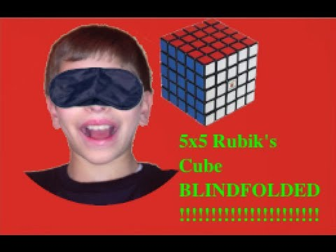 5x5 Rubik's Cube Blindfolded: 52:36.256 - First Success!!!