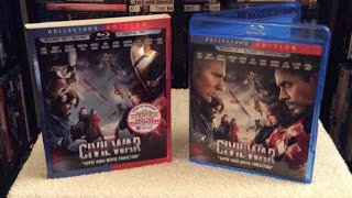 Captain America: Civil War 3D BLU RAY UNBOXING and Review