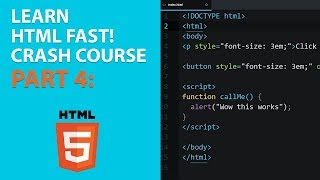 [2018] HTML for Beginners Crash Course: Part 4