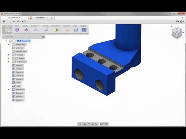 Fusion 360 Tutorial 7: Navigation Tools