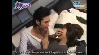 YOB  imaginary bed scene making Jang geun suk and park shin hye)