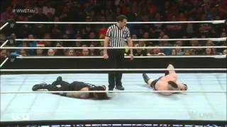 Roman Reigns vs Sheamus WWE World Heavyweight Championship match 14/12/2015