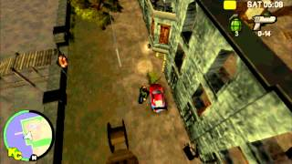 Grand Theft Auto Chinatown Wars MYTH 1 Abandoned Hospital {PSP GAMEPLAY} (Croxfod106Remake)