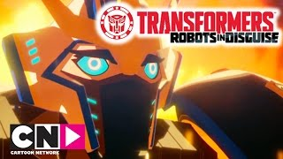 Transformers: Robots in Disguise | Worthy | Cartoon Network