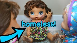 BABY ALIVE Homeless Baby Alive Knocks On The Door! Baby Alive Videos
