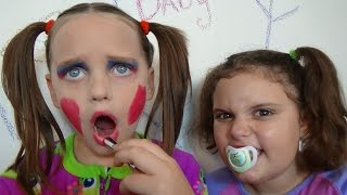 Bad Baby Annabelle Make Up Fail Vs Victoria