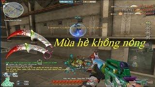 [ Bình Luận CF ] M4A1-X-mas2 - Tiền Zombie v4