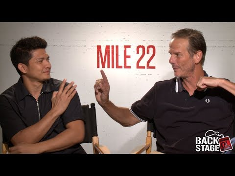 Xxx Mp4 MILE 22 Interview Peter Berg Vs Iko Uwais Who D Win In A Fight 3gp Sex
