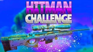 HITMAN CHALLENGE (Fortnite Battle Royale)