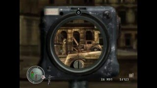 Retro Gaming sniper Elite 1 Gameplay Level 26 Escape From Berlin Stage 2 Journey To Tempelhof 1