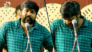 My hero image is respected by all and not me - Vijay Sethupathi Speech | Ameer Sultan