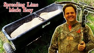 How to Lime Your Foodplots (the Easy Way)