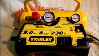 Stanley compressor 5L 8BAR