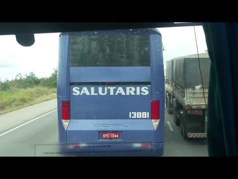 Viação Salutaris Ultrapassando BR116 MG