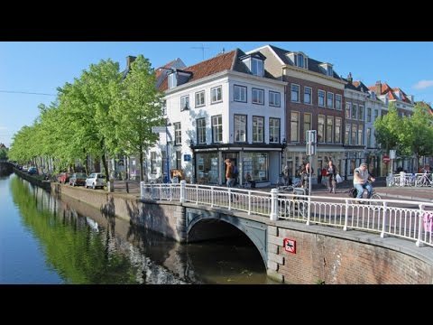Delft Netherlands Town Square and Delftware