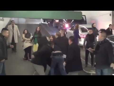 Asian Gang Attack 3 Guys