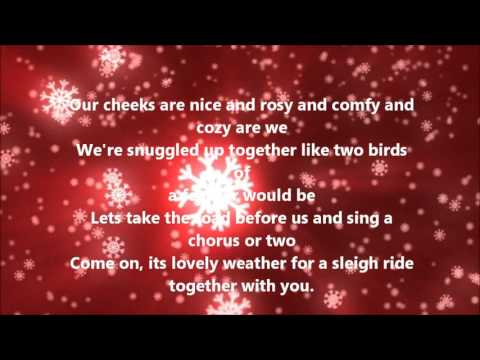 The Ronettes - Sleigh Ride (Lyrics)
