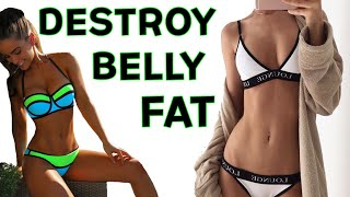 🔥Belly Fat Burning HIIT TORCHER | 4 Fat Burning HIIT Cardio Workout To Burn Belly Fat!
