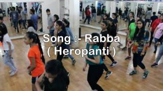 Rabba - Heropanti | Dance Video | DXB Crew Choreography