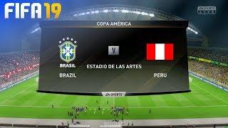 FIFA 19 - Brazil vs. Peru (Copa América Final)