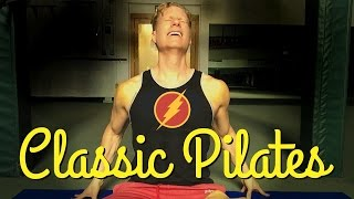 Hot 15 Min 'Classic' Joseph Pilates Core Abs Workout - Total Body Muscle Shredder Exercises