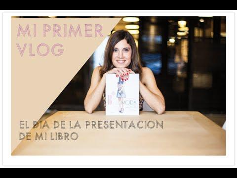 Mi primer Vlog presentacion libro y discurso de MIA