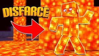 Minecraft: DISFARCE DE LAVA - (Esconde-Esconde)