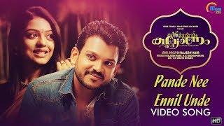 Kalyanam | Pande Nee Ennil Unde Song Video | Shravan Mukesh | Siddharth Menon | Prakash Alex | HD