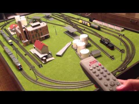 Макет железной дороги видео своими руками