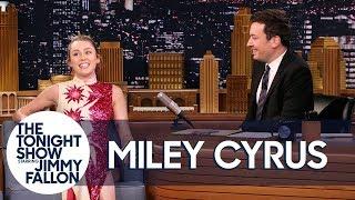 Miley Cyrus and Jimmy Revisit Their Favorite Miley Week Inside Jokes