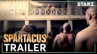 Spartacus | Gods of the Arena - Trailer | STARZ
