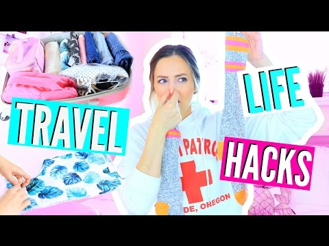 The BEST Travel Life Hacks You NEED To Know