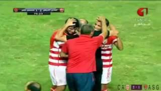 حصيلة أهداف الجولة الثانية  للبطولة التونسية المحترفة (الدوري التونسي)