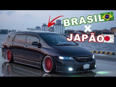 Conexão Brasil X Japão Honda Odyssei VOCÊ JÁ VIU
