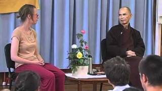 Q&A - Thich Nhat Hanh - How do we find strength to love ourselve?