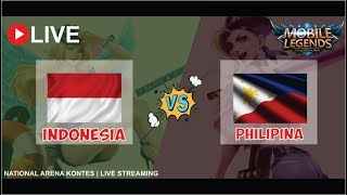 INDONESIA VS PHILIPINA ARENA KONTES MOBILE LEGENDS