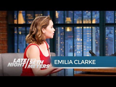 Game of Thrones Emilia Clarke Dothraki Is a Real Language