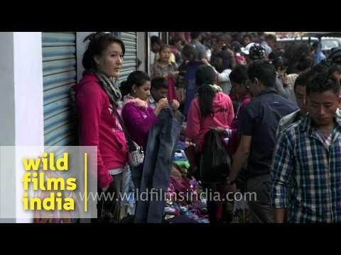 Xxx Mp4 Crowd Shopping On A Street In Dimapur Nagaland 3gp Sex