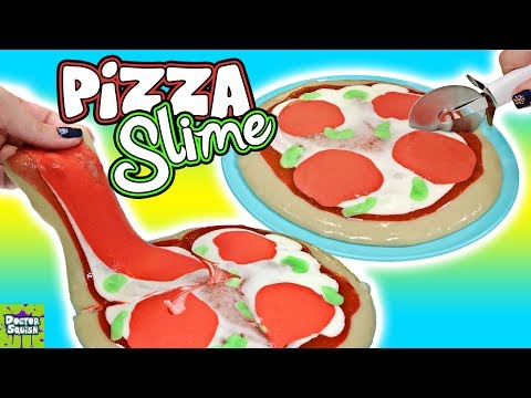 Xxx Mp4 PIZZA Slime Homemade Squishy Slime Pizza Kinetic Sand Butter Slime FUN Doctor Squish 3gp Sex