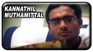 Kannathil Muthamittal Tamil Movie Scenes | Madhavan & family arrive at Sri Lanka | Mani Ratnam