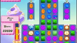 Candy Crush Saga Level 2828 - NO BOOSTERS