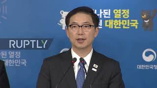 South Korea: Koreas to march under