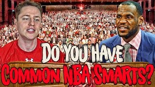 A NEW TYPE OF IMPOSSIBLE NBA TRIVIA!