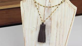 DIY Rolling a Tassel Necklace | Sizzix Jewelry