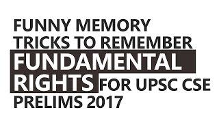 Funny Memory Tricks to Remember Fundamental Rights by Roman Saini [UPSC CSE/IAS, SSC CGL]