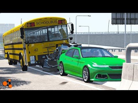 Xxx Mp4 Beamng Drive School Bus Accidents Crash Compilation 3gp Sex