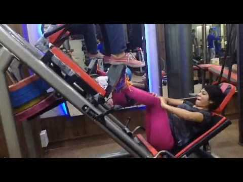 Indian girl workout(2)