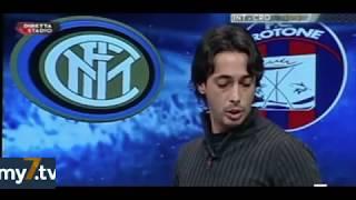 DirettaStadio 7Gold Inter Crotone 1-1 Filippo Tramontana deluso e rassegnato!