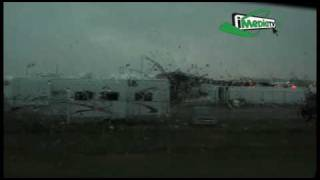 Big Valley Storm Video - better quality - August 1, 2009 - Camrose, Alberta